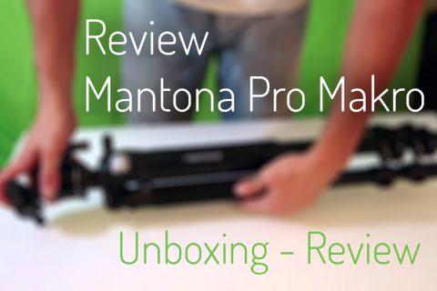 Unboxing/Review Mantona Pro Makro II