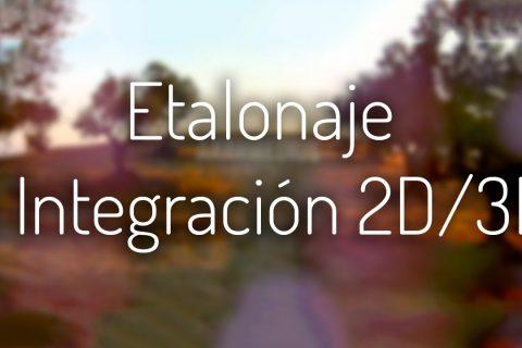 Etalonaje e Integración 3D para Corporativo, Spots, Cine, etc…