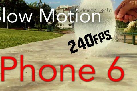 Muestra de la Cámara lenta del iPhone 6 (240fps)