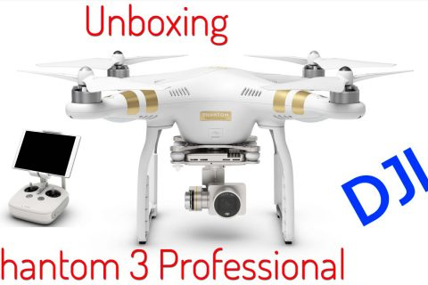 Unboxing Phantom 3 Professional