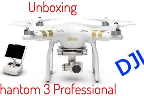 Unboxing Phantom 3 Professional