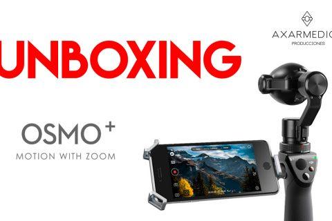 Unboxing DJI Osmo Plus en Español (Spanish)
