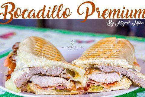 Bocadillo Premium – Receta by Miguel Mora