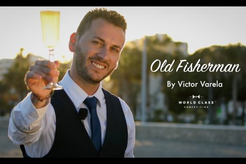 Cocktail Old Fisherman by Victor Varela