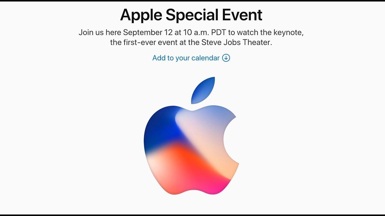 Apple Special Event Keynote retransmision en directo