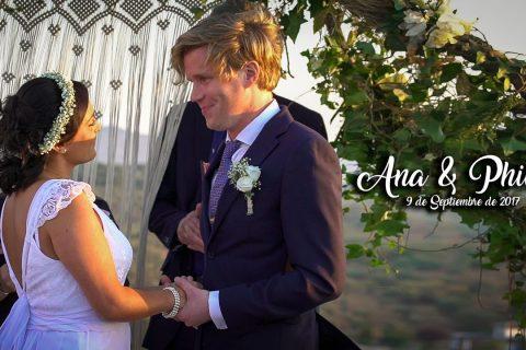 Boda Ana y Philip – 9 de Septiembre de 2017 – Wedding Teaser