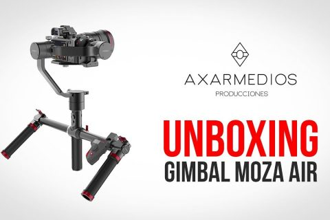 Moza Air Gimbal – Unboxing y Opiniones