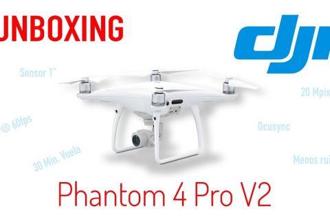 DJI Phantom 4 Pro V2.0 – Unboxing